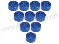 Aluminium M3 Flat Washer 3.0mm (10 Pcs) Blue #3RAC-WF330/BU