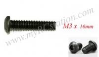 Button Head Cap Screw M3 x 16mm (10pcs) #TTL134