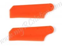 EK1-0444R Tail Rotor Blade (RED) #000717