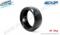 EXP Touring Car Rubber Tire 24mm (40Deg) #EXP-40E