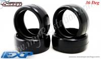 EXP Touring Car Rubber Tire 24mm(36Deg) #EXP-36E