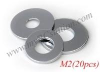 Flat Washer M2 (20pcs) #TTL148