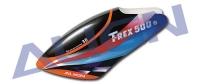 H50106 Trex 500 Painted Canopy/Orange #H50106
