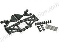 Rear Camber Suspension Arm Set For TT-01 #TT01-21