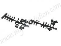 Replacement Plastic F&R Camber Suspension Set For #TT01-38 #TT01-M01