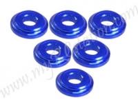 Shock Tower Shim M8 x 2mm (6pcs) - Blue #3RAC-WFS820/BU