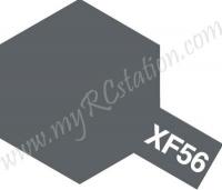 Tamiya Enamel XF-56 Metallic Grey #80356
