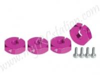 Wheel Adaptor (4mm) - Thick #3RAC-WX124/PK