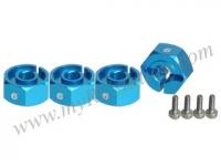 Wheel Adaptor (6mm) - Thick #3RAC-WX126/LB