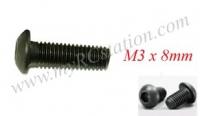 Button Head Cap Screw M3 x 8mm (10pcs) #TTL132