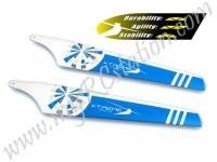 EBL005B Main Blade Upper White/Blue #Big Lama