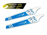 EBL006B Main Blade Lower White Blue #Big Lama