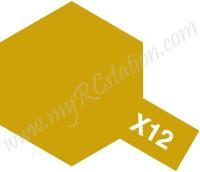 X12 Gold Leaf Enamel Paint (Gloss)