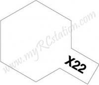 X22 Clear Enamel Paint (Gloss)