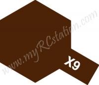X9 Brown Enamel Paint (Gloss)
