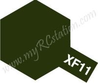 XF11 J.N. Green Enamel Paint (Flat)