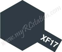 XF17 Sea Blue Enamel Paint (Flat)