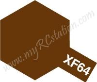 XF64 Red Brown Enamel Paint (Flat)