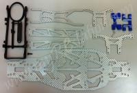 R31 Convertion Kit, Blue, White Carbon #R31OP.BU.S