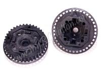Gear Diff. Housing (For SPR009-XR34) #SPR010-HXR34