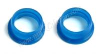 12-15 Engine Manifold Silicone Blue,4pcs #YA-0139BU
