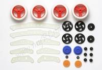 JR FRP Reinforcement Set - MS Chassis (Natural Color) #94803