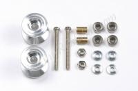 JR-Double Aluminum Rollers (13-12mm) #15398