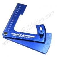 High Angle Camber Gauge 22Degree[Blue] #ER.3791V3-BL