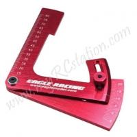 High Angle Camber Gauge 22Degree[Red] #ER.3791V3-RE