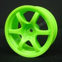 Mikuni Gram Lights 57D Neon Green 9mm, 2pcs #DW-429GR