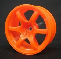 Mikuni Gram Lights 57D Orange 7mm, 2pcs #DW-427OR