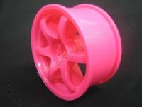 Mikuni Gram Lights 57D Pink 7mm, 2pcs #DW-427PI