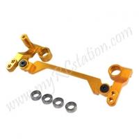 SP Steering Crank W/Ball Bearing Set For R31 - Gold#ER.R31-17-GO