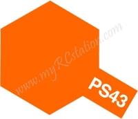 Tamiya PS-43 Tranlucent Orange - 100ml Spray Can #86043