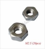 M2.5 Nut (20pcs) #TTL240