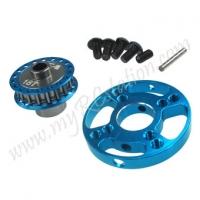 SP Spur Gear Adaptor For R31[Light Blue]#ER.R31-12-LBL