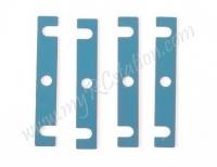 Aluminum Roll Center Spacer - (1mm) 4pcs #53933