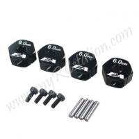 SP Wheel Adaptor(6.0mm)2pcs[Black]#ER.3905-60
