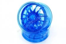 Ultimate GL wheel offset7 crystal blue,2pcs #DW-527CBL