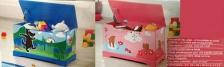 Livarno Kids Storage Bench - Blue & Pink