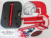 Adjustable Basket Ball Stand with ball [1.66m]