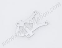 D-LINK OTA SKID PLATE (SILVER) #01034201