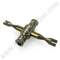 SP Dual Turnbuckle Wrench(3mm/4mm)W/ Winder[GU] #ER.3723V2-GU