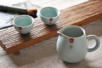Ru Yao Tea Cup 第一坊 汝窑 不倒杯 (天青)