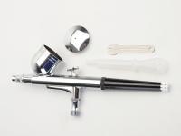 "Dual Action Airbrush Spray Gun (0.3mm) FOC Airbrush Hose and Fitting (1/8"")"