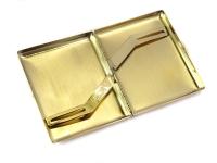 Premium Gold Stainless Steel Cigarette Case G2