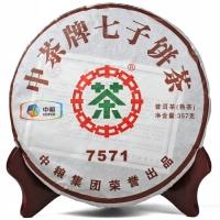 中茶牌 7571(熟茶)(357g)(2011)