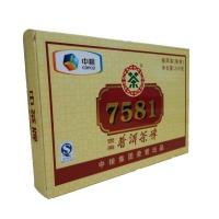 中茶牌 7581茶砖 (熟茶) (250g) (2011)