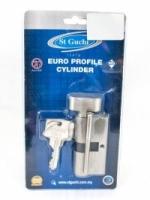ST Guchi 865786V Satin Nickel 60mm Euro Profile Cylinder