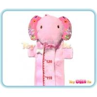 Soft Toy - Pink Elephant Ruler